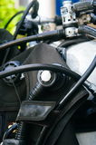 Scuba diving equipment, tank and regulators Royalty Free Stock Images