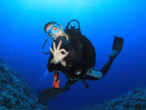 Scuba Diving Stock Photo
