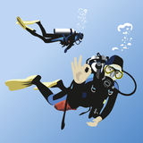 Scuba diving Stock Photography