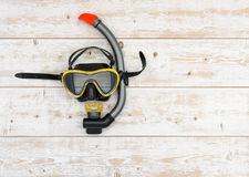 Scuba diving and snorkelling royalty free stock photos