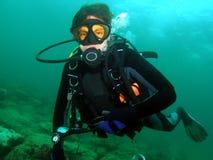 Scuba-duiker Royalty-vrije Stock Afbeelding