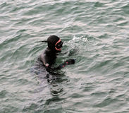 Scuba-duiker Royalty-vrije Stock Foto's