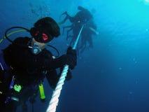 Scuba-duiker Stock Fotografie