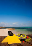 Scuba Equipment Royalty Free Stock Image
