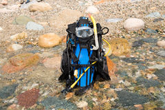 Scuba Equipment Royalty Free Stock Images