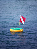Scuba flag Stock Photo