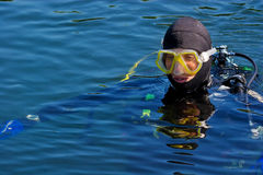 Scuba Series royalty free stock photography