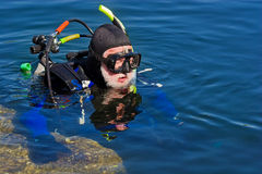 Scuba Series Royalty Free Stock Photos