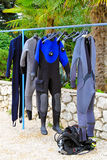 Scuba suit Royalty Free Stock Photo