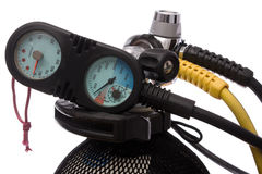Scuba tank Stock Photography