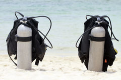 Scuba Tanks Stock Image