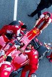 Scuderia法拉利F1, Pedro De La罗莎2013年 免版税库存图片