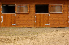 Scuderia del cavallo Fotografia Stock