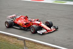 Scuderia Ferrari Fotografía de archivo libre de regalías