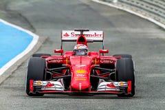 Scuderia Ferrari F1, Kimi Raikkonen, 2015 Στοκ Φωτογραφίες