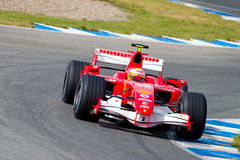 Scuderia Ferrari F1, Luca Badoer, 2006 Royalty Free Stock Photo