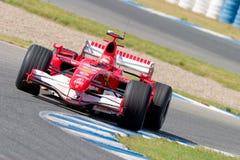 Scuderia Ferrari F1, Michael Schumacher, 2006 Foto de Stock