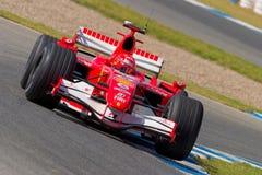 Scuderia Ferrari F1, Michael Schumacher, 2006 Stock Photos