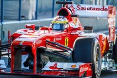 Scuderia Ferrari F1, Pedro de la Rosa, 2013 Royalty Free Stock Photo