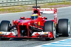 Scuderia Ferrari F1, Pedro de la Rosa, 2013 Stock Images