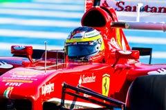Scuderia Ferrari F1, Pedro de la Rosa, 2013 Stock Photos