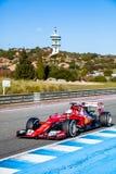 Scuderia Ferrari F1, Sebastian Vettel, 2015 Arkivbild