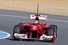Scuderia Ferrari F1, Felipe Massa, 2012 Stock Photography
