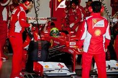 Scuderia Ferrari F1, Felipe Massa, 2012 Stock Images