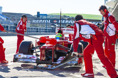 Scuderia Ferrari F1, Felipe Massa, 2012 Royalty Free Stock Image