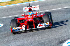 Scuderia Ferrari F1, Fernando Alonso, 2012 Stock Photos