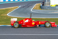 Scuderia Ferrari F1, Fernando Alonso, 2012 Stock Photo