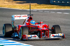 Scuderia Ferrari F1, Fernando Alonso, 2012 Royalty Free Stock Images
