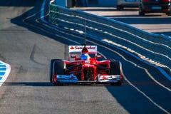 Scuderia Ferrari F1, Fernando Alonso, 2012 Stock Photography