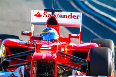 Scuderia Ferrari F1, Fernando Alonso, 2012 Royalty Free Stock Photography