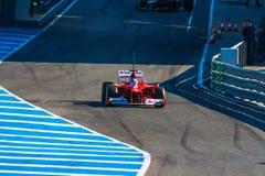 Scuderia Ferrari F1, Fernando Alonso, 2012 Stock Images
