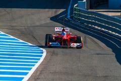 Scuderia Ferrari F1, Fernando Alonso, 2012 Stock Image