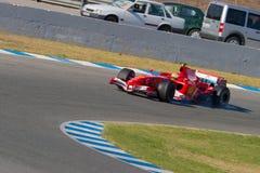 Scuderia Ferrari F1, Luca Badoer, 2006 Fotos de Stock Royalty Free