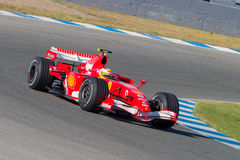 Scuderia Ferrari F1, Luca Badoer, 2006 Royalty Free Stock Photos