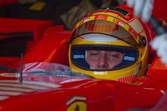 Scuderia Ferrari F1, Luca Badoer, 2006 Royalty Free Stock Images