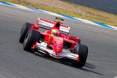 Scuderia Ferrari F1, Luca Badoer, 2006 Royalty Free Stock Photography