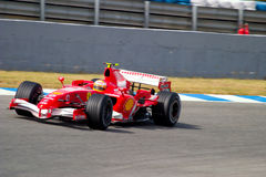 Scuderia Ferrari F1, Luca Badoer, 2006 Stock Image