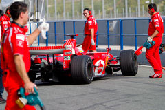 Scuderia Ferrari F1, Marc Gene, 2006 Royalty Free Stock Photo