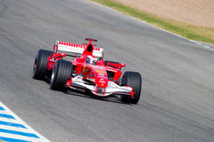 Scuderia Ferrari F1, Marc Gene, 2006 Royalty Free Stock Photography