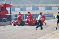 Scuderia Ferrari F1, Michael Schumacher, 2006 Fotografia de Stock