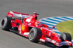 Scuderia Ferrari F1, Michael Schumacher, 2006 Stock Photography