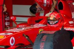 Scuderia Ferrari F1, Michael Schumacher, 2006 Stock Images