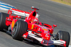 Scuderia Ferrari F1, Michael Schumacher, 2006 Stock Afbeeldingen