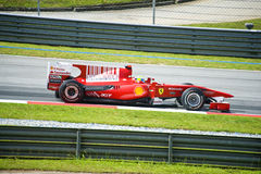 Scuderia Ferrari Marlboro Formula One Felipe Massa Royalty Free Stock Photos