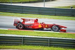 Scuderia Ferrari Marlboro Formule 1 Felipe Massa Royalty-vrije Stock Foto's