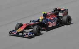 Scuderia Toro Rosso driver Jaime Alguersuari Royalty Free Stock Image